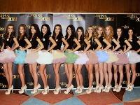 Finalistky Miss Slovensko 2013.