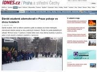 Študenti do Prahy vycestovali vo veľkom