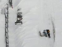 Meteorológovia pre Hokkaidó vydali varovanie pred silným vetrom a snehovou nádielkou