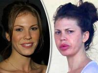 Nikki Cox v roku 2002 a v súčasnosti