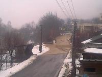 Naša čitateľka Marianna Franková zachytila prívalovú vlnu v obci Brehy.