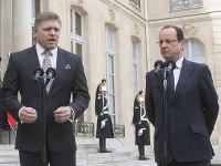 Robert Fico a Francois Hollande