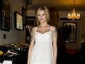 Helena Zeťová si obliekla romantické biele šaty.
