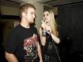 Lukáš a Gabika si zaspievali aj na párty.
