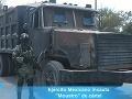 Tvrdá vojna o drogy: Kartely si vyrobili vlastné tanky!