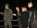 Na postihnuté miesta prišli v noci na stredu aj premiérka Iveta Radičová a minister obrany Ľubomír Galko.