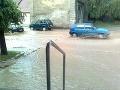 Záplavy v Modre (fototip: Jana Soukopová)