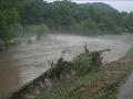 Záplavy v Píle (fototip: Ľuboš Petrovič)