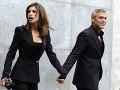 George Clooney s Elisabettou Canalis
