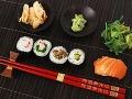 Žite zdravo, jedzte sushi!
