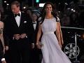 Princ William a Princezná Catherine počas galavečera v Hollywoode