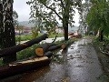 Sever Slovenska ohrozuje silný vietor: Popadané stromy komplikujú dopravu