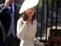 Kate Middleton na svadbe Zary Phillips v poslednú júlovú sobotu