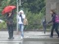 Silná búrka a krupobitie zasiahli Kežmarok, smerujú na Poprad