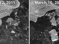 Japonské cunami rozlámalo ľadovec väčší ako Manhattan!