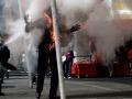 Horiaceho muža (62) na zastávke uhasili okoloidúci: Niekto ma podpálil, tvrdí!