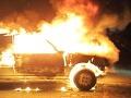 Okolo Bratislavy horeli autá, škody v desaťtisícoch!