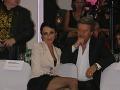 Na tanečné kolo plné rytmov samby sa prišla pozrieť aj speváčka Sisa Lelkes-Sklovská s manželom Jurajom.