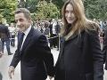 Nikolas Sarkozy a Carla Bruni