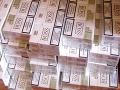 Colníci našli v železnej rude 120 tisíc pašovaných cigariet