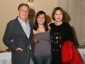 S Hankou sa tešia aj teta Emília Vášáryová (vpravo) s manželom Milanom Čorbom (vľavo).