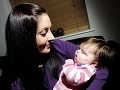 Slepá Evička po prvýkrát uvidela svoju mamu, rozžiarili sa jej oči!
