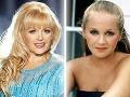 Charlene Tilton v súčasnosti a pred rokmi v role Lucy Ewing
