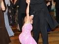 Veronika Žilková to na plese neustála.