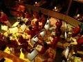 Pre viedenský orchester Strauss Capelle sa stavalo špeciálne pódium.