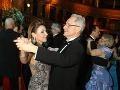 Manželia Alena a Jozef Heribanovci tanec tiež nevynechali.