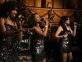 Vystúpenie tria American Divas.