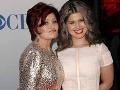Kelly Osbourne s matkou Sharon