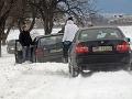 Varovanie pred snehovými závejmi: Bude poriadne fúkať, platí výstraha