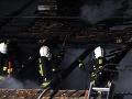 Nad bratislavskou Hlavnou stanicou vypukol požiar, horelo aj v Prešove