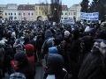 Protest Gorila v Prešove