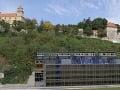 Projekt Vydrica, výškové budovy zatienia výhľad na Bratislavský hrad