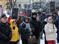 Prešovčania protestovali za neustáleho