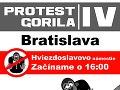 Protest Gorila 4 už