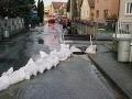 Situácia sa po záplavách upokojila, hasiči odčerpali vodu