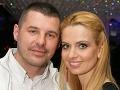 Marianna Ďurianová so snúbencom Romanom Doležajom.