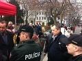 Incident počas mítingu Smeru: