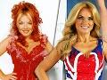 Geri Halliwell v čase skupiny Spice Girls a v súčasnosti