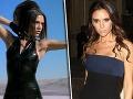 Victoria Beckham v čase skupiny Spice Girls a v súčasnosti