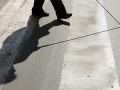 Najpozornejší k nevidiacim sú šoféri v Trnavskom kraji, ukázal Deň bielej palice