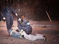 Polícia brutálne zasiahla