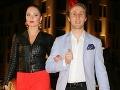 Moderátor Matej Sajfa Cifra s priateľkou Veronikou