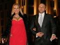 Bývalá šéfka produkčnej firmy Wanda Adamik Hrycová s manželom Marekom