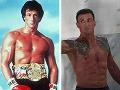 Sylvester Stallone ako Rocky a s odstupom takmer štyroch desaťročí