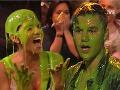 Celebrity na Kids' Choice Awards opäť dostali poriadnu nádielku zeleného slizu.