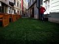 """Podľa reakcií Bratislavčanov sa to iniciátorom aj poradilo. Na ulici vytvorili aj sedenia na oddych a okoloidúcim hrala hudba. """"Teraz je tu úplne iná klíma. Nemám pocit, že som v centre mesta,"""" uviedla Bratislavčanka Danka."""